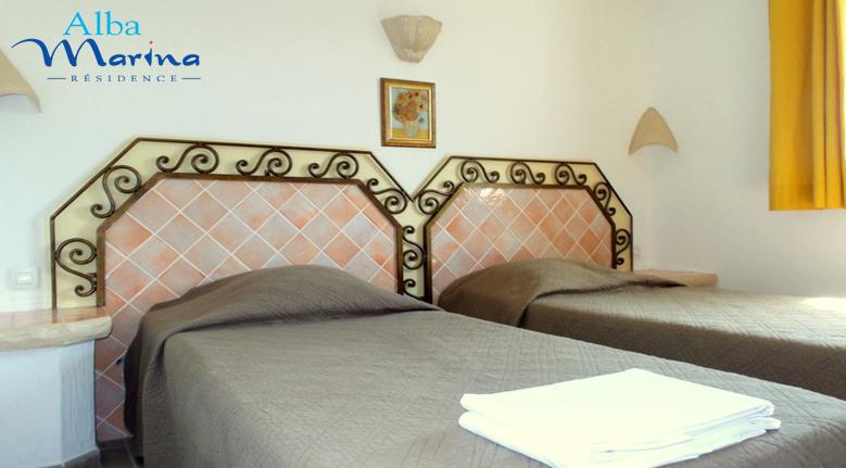 Chambres 2 lits en 90cm