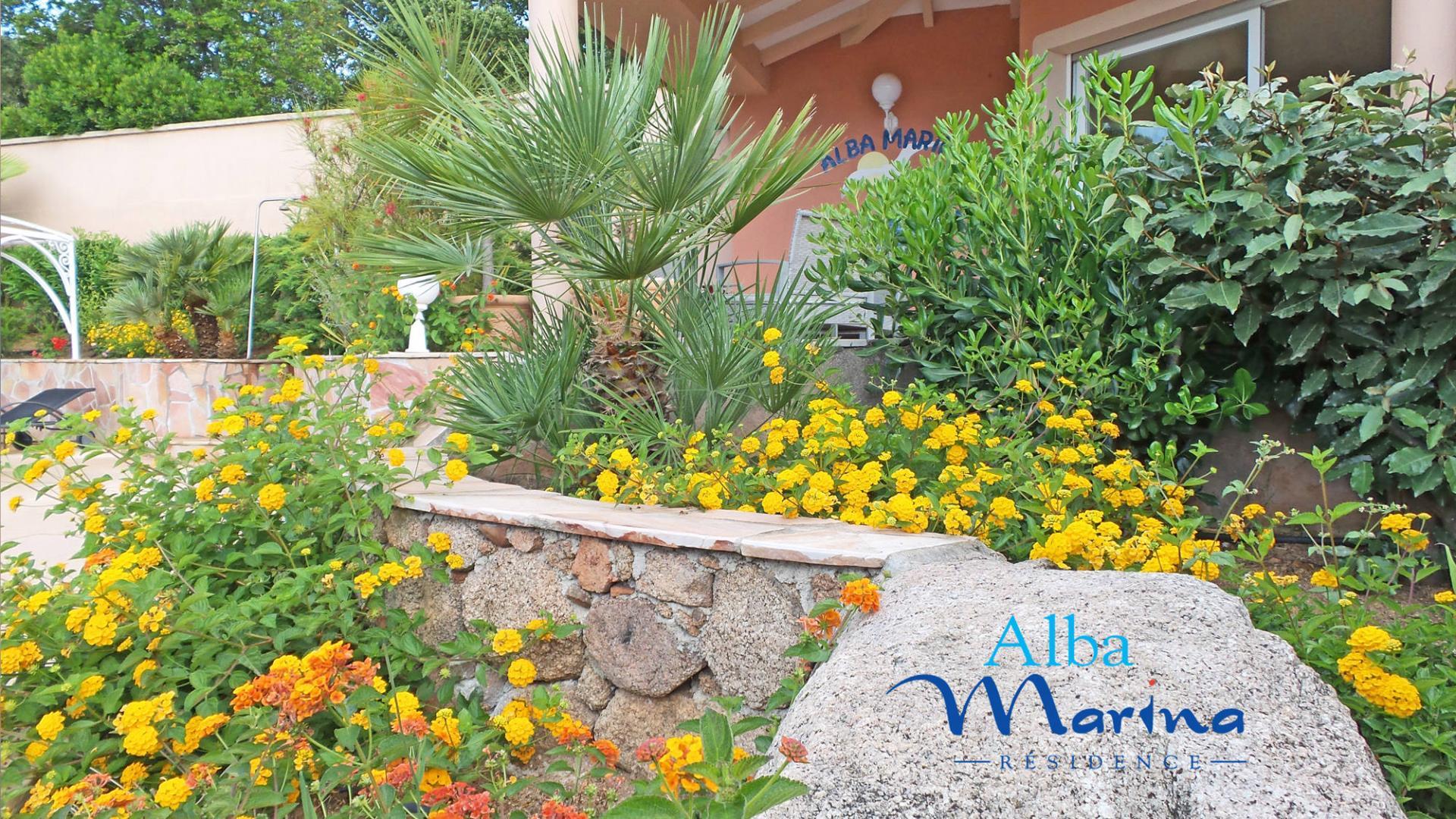Jardin résidence Alba Marina