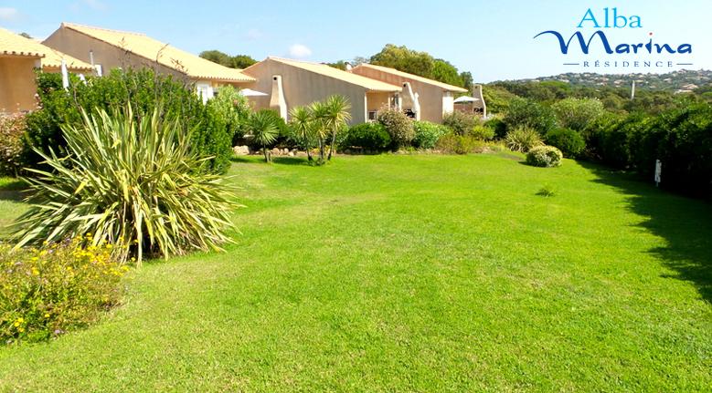 Jardin de la résidence Alba-Marina