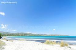 La plage de Pinarello en Corse du sud
