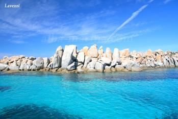 Les îles Lavezzi au large de Bonifacio en Corse