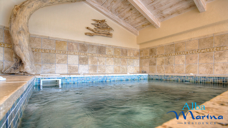 Le spa de la residence Alba Marina