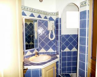 Salle de bain des villas Pinarello