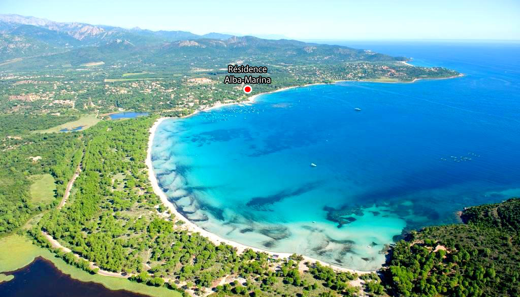 Location bord de mer Corse du sud