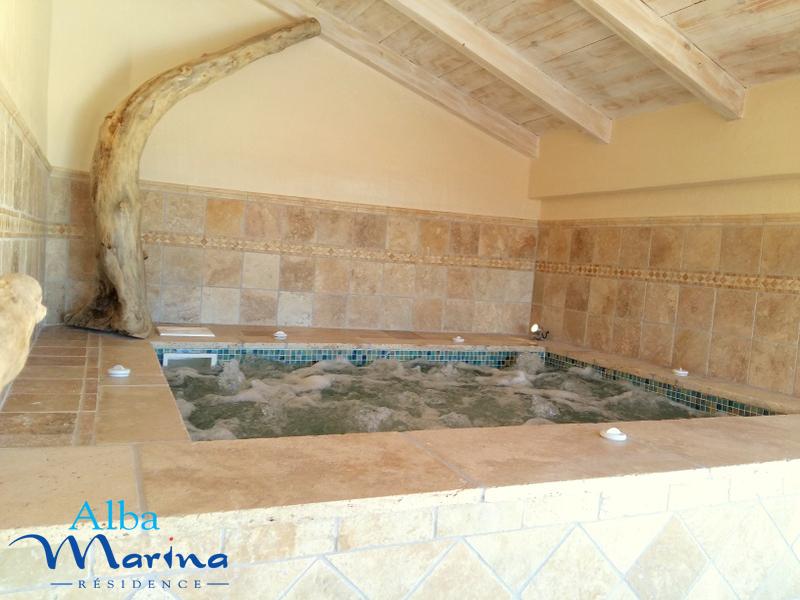 Résidence de vacances avec spa en Corse du sud