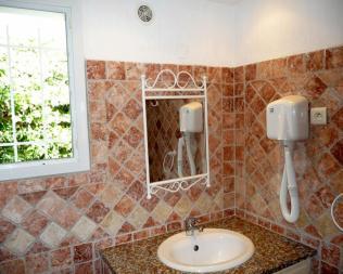 Salle de bain de votre Mini-Villa