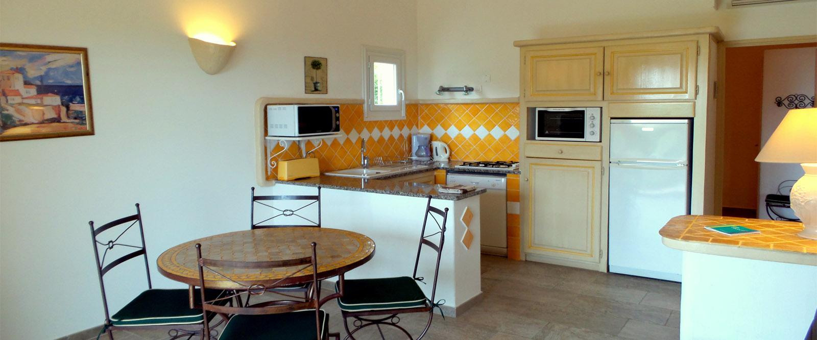 Séjour des villas à Pinarello