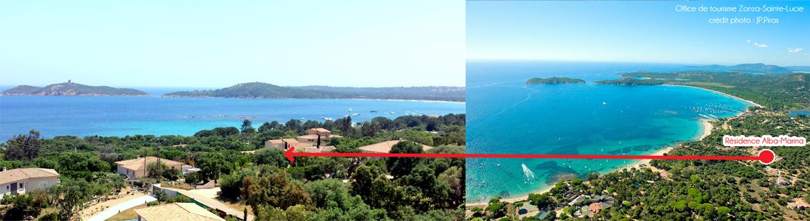 Location de vacances en Corse proche de la plage