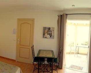 Intérieur de votre studio de vacances en Corse du sud