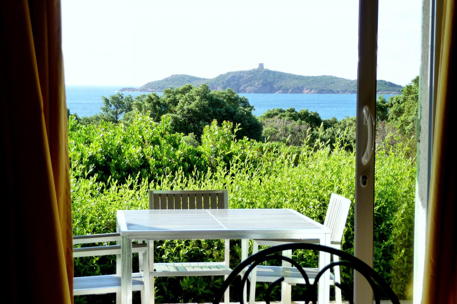 Villa avec vue mer pinarello corse
